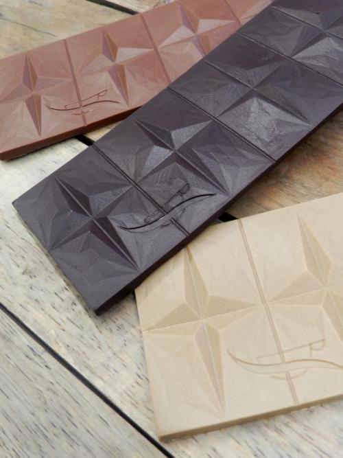 Tablettes de chocolat variées