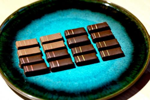 Chocolats a base d'infusions