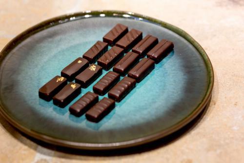 Chocolats a base de ganaches grands crus