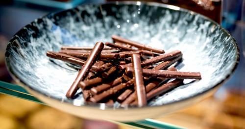 Finger onctueux au caramel au beurre salé